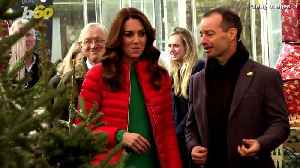 Kate Middleton Reveals that Prince Louis Is Talking [Video]