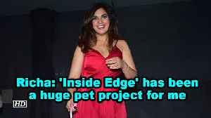 Richa Chadha: 'Inside Edge' has been a huge pet project for me [Video]