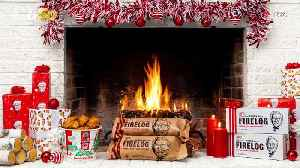 KFC Is Bringing Back Its Fried Chicken-Scented Fire Logs in Time for the Holidays! [Video]