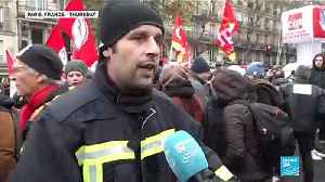 First clashes break out in Paris on day one of national strikes [Video]