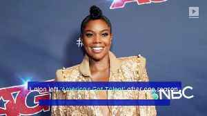 Gabrielle Union Meets With NBC Following 'AGT' Controversy [Video]