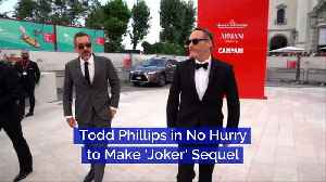 Todd Phillips in No Hurry to Make 'Joker' Sequel [Video]