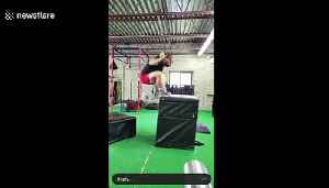 When box jumping goes horribly wrong [Video]