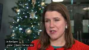 Jo Swinson says she won't 'apologise for being ambitious' [Video]