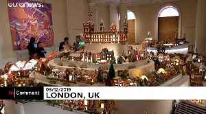 London architests showcase sustainable gingerbread city of the future [Video]