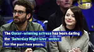 Emma Stone and Dave McCary Announce Engagement [Video]