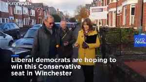 Liberal Democrats hope tactical voting will win them Conservative seat in Winchester [Video]