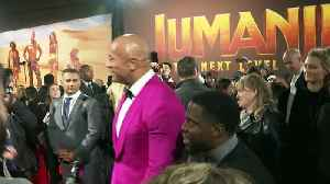 Karen Gillan, The Rock and Kevin Hart come to blows! [Video]