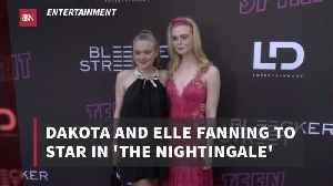 News video: The Fanning Sisters Work On A New Project
