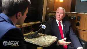 COMPLETE INTERVIEW: Vice President Pence speaks with 7 Action News during visit to Michigan [Video]
