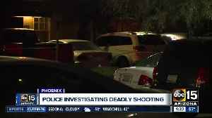 Phoenix police investigating deadly shooting near 67th Avenue and McDowell Road. [Video]