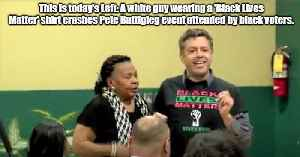 Black Lives Matter crashes Pete Buttigieg event to spotlight black support for him [Video]