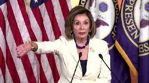 'Don't accuse me' of hating Trump: Pelosi to reporter [Video]