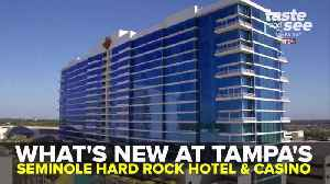 What's new at Tampa's Seminole Hard Rock Hotel and Casino | Taste and See Tampa Bay [Video]