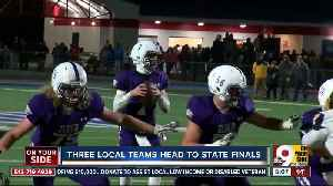 Three teams from the area are heading to football state finals [Video]