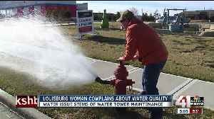 Maintenance on water tower causes cloudy water in Louisburg [Video]