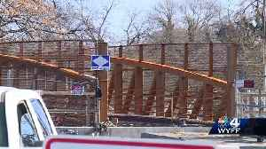 New pedestrian bridge nears completion [Video]