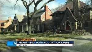 Tips to protect your packages from porch pirates this holiday season [Video]