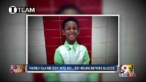 Attorneys: 8-year-old was bullied at school on day he hanged himself [Video]