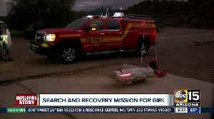News video: Search continues for missing child at Tonto Basin
