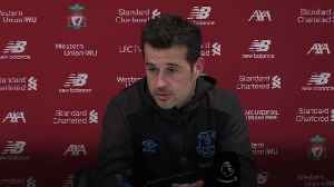 Marco Silva refuses to discuss future after Merseyside derby defeat [Video]