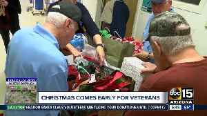 Christmas comes early for veterans in Phoenix [Video]