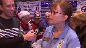 Honoring quilter who honors veterans [Video]