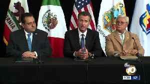 Gov. Newsom vows to fix sewage runoff from Tijuana [Video]