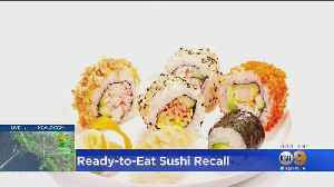 Recall Issued For Ready-To-Eat Sushi Sold At Trader Joe's, 7-Eleven, Walgreens [Video]