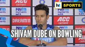 India vs WI | 'Confident about my bowling': Shivam Dube ahead of T20I [Video]