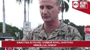 News video: Sailor opens fire, shoots 3 at Pearl Harbor Naval Shipyard before shooting themself