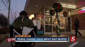 Federal changes could impact SNAP benefits [Video]