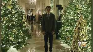 News video: McKinney Teen Got To Help Decorate The White House For Christmas
