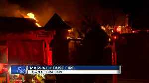 Fire Chief: House is 'total loss' after 3-alarm fire in Grafton [Video]