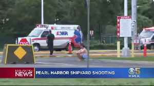 News video: U.S. Sailor Opens Fire, Kills 2 Civilian Workers At Pearl Harbor Naval Shipyard