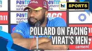India Vs West Indies l 'Want to continue my good form': Kieron Pollard [Video]