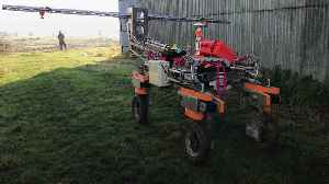 National Trust brings in robot to map weeds on farm [Video]