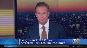 UPS Driver Accused Of Stealing Packages [Video]