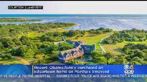 Obamas Buy Martha's Vineyard Home From Celtics Owner Wyc Grousbeck, Report Says [Video]
