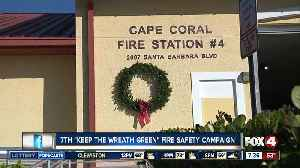 """7th """"Keep the Wreath Green"""" fire safety campaign [Video]"""