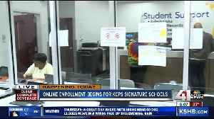 Online enrollment begins for KCPS signature schools [Video]