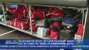 Avonworth HS Football Team Headed To Hershey For Championship Game [Video]