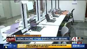 KCPS online enrollment opens for select schools [Video]