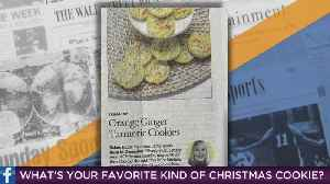 'The 7:34': What Are Your Favorite Holiday Cookies? [Video]