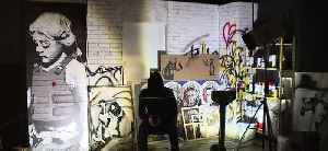 Banksy exhibit opening in Las Vegas [Video]