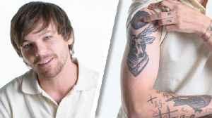 Louis Tomlinson Breaks Down His Tattoos [Video]