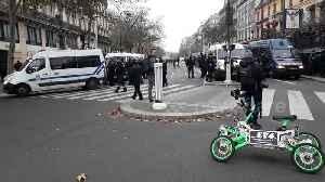 Thousands protest in Paris against retirement reform [Video]