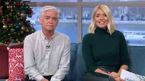 Phillip Schofield And Holly Willoughby Take Selfie With Boris Johnson [Video]