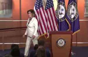 News video: 'Don't accuse me' of hating Trump: Pelosi to reporter