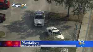 Lockdown Lifted At South Plantation High School [Video]